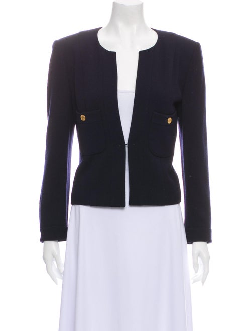 Chanel Vintage Wool Jacket Wool