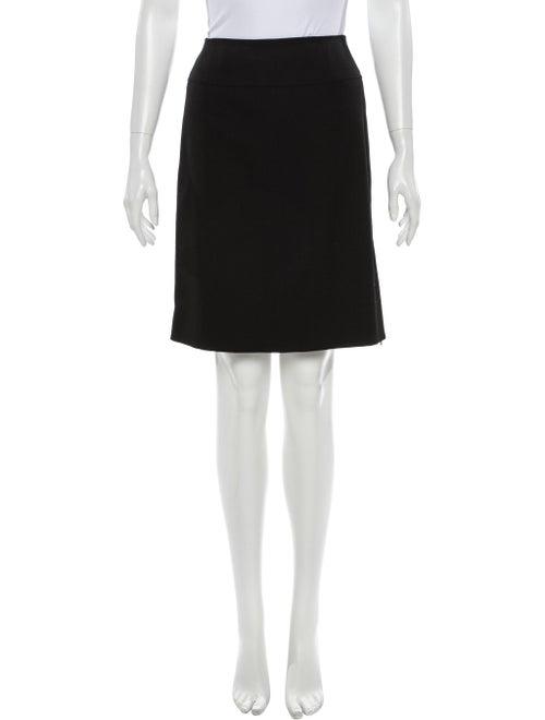 Chanel 1995 Knee-Length Skirt Wool