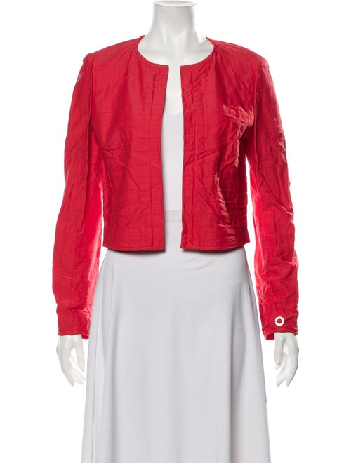 Chanel Evening Jacket Red