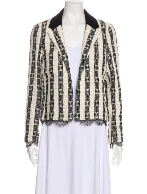 Chanel Striped Evening Jacket
