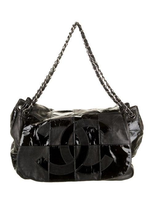 Chanel Brooklyn Accordion Flap Bag Black