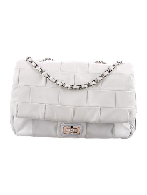 Chanel Igloo Flap Bag White