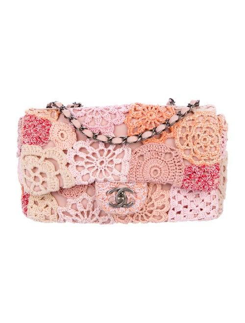Chanel Paris-Seoul Crochet-Work Flap Bag Pink
