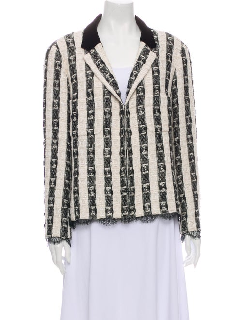 Chanel 2004 Striped Evening Jacket