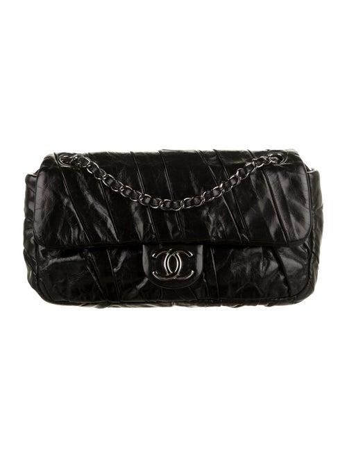 Chanel Medium Twisted Flap Bag Black