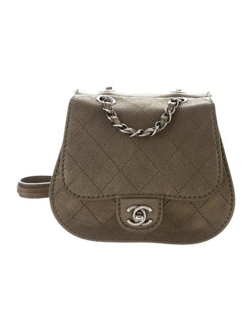 Chanel Coco Twin Small Flap Bag Bronze