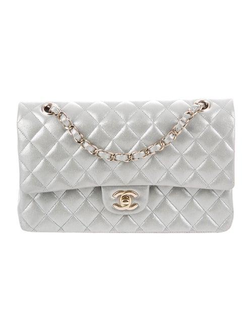 Chanel Classic Medium Double Flap Bag Grey