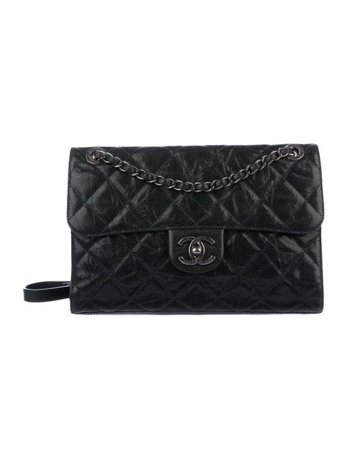 Chanel Medium CC Crave Flap Bag Black