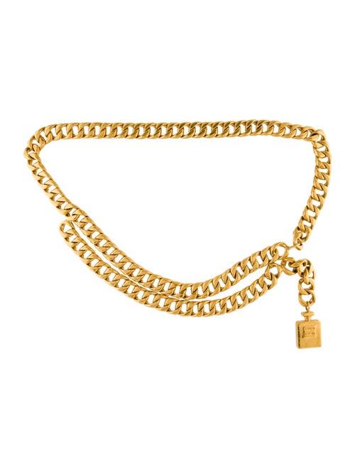 Chanel Vintage Coco Chain-Link Belt Gold