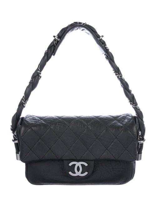 Chanel Lady Braid Flap Bag Black