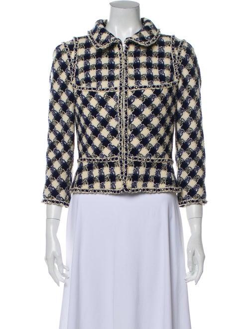 Chanel 2006 Plaid Print Evening Jacket