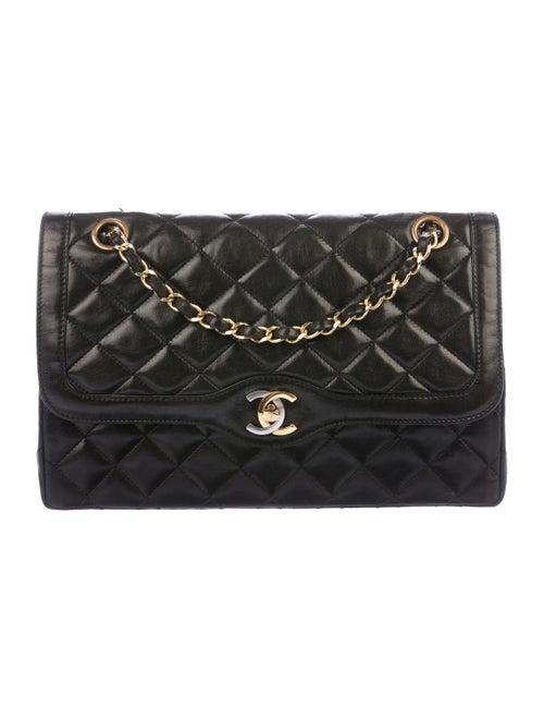 Chanel Vintage Diana Flap Bag Black