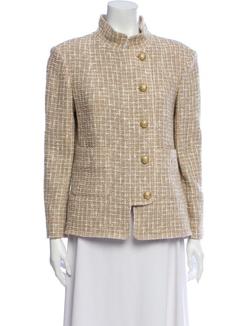 Chanel 2015 Tweed Pattern Jacket