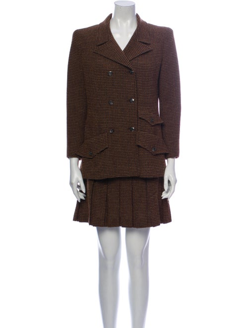 Chanel Vintage 1997 Skirt Suit Wool