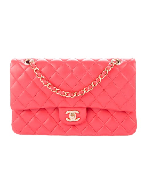 Chanel 2019 Medium Double Flap Bag Red