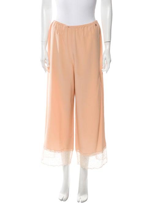 Chanel 2017 Silk Pajamas Pink