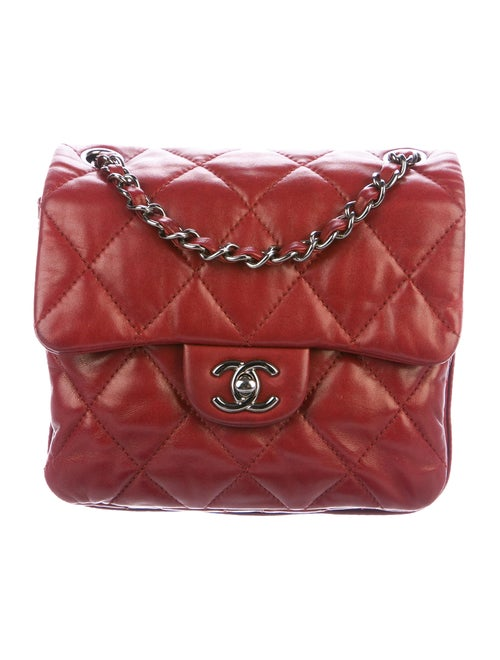 Chanel Quilted Square Flap Bag