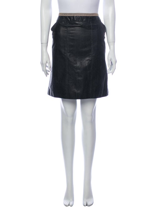 Chanel 2003 Mini Skirt Black