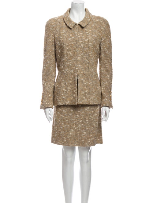 Chanel 1996 Wool Skirt Suit Wool - image 1