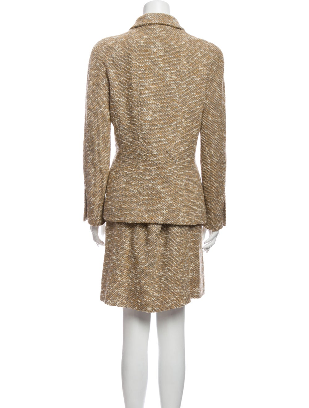 Chanel 1996 Wool Skirt Suit Wool - image 3