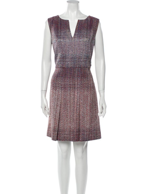 Chanel 2017 Mini Dress Purple