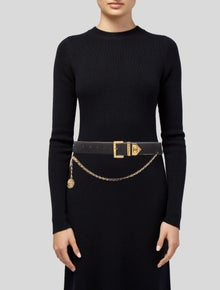 Chanel Vintage CC Chain-Link Belt