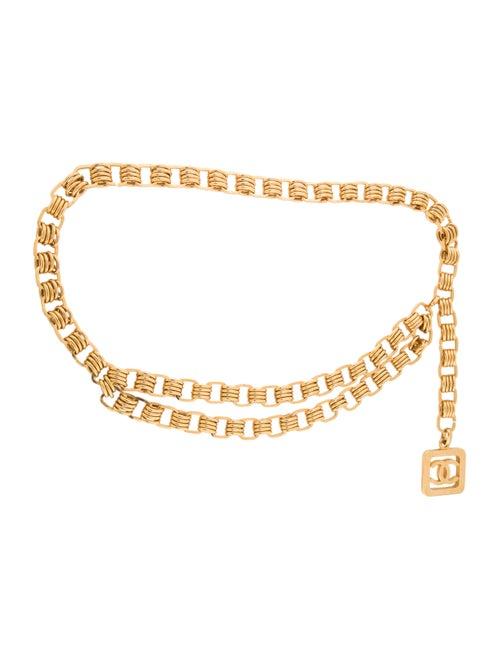 Chanel Chain-Link CC Belt Gold