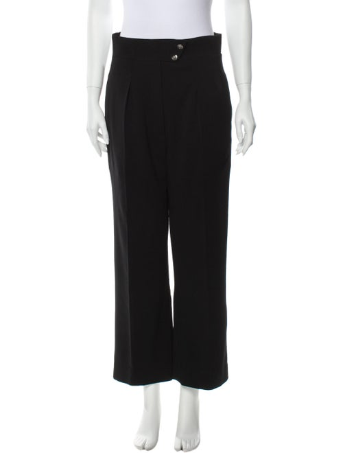 Chanel 2010 Wide Leg Pants Black