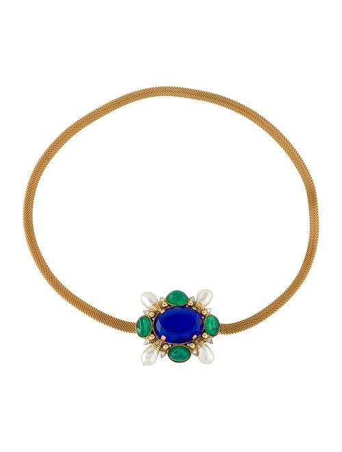 Chanel Vintage Gripoix Chain Belt Gold
