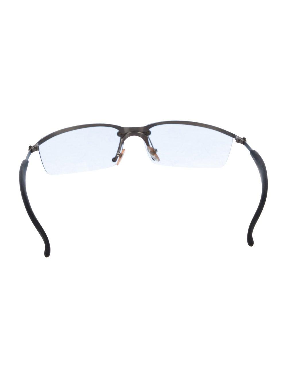 Chanel Rimless CC Sunglasses Grey - image 3
