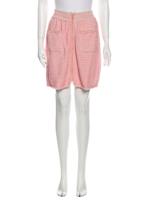 Chanel 2017 Mini Skirt Pink