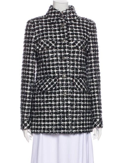 Chanel 2020 Tweed Pattern Evening Jacket Black