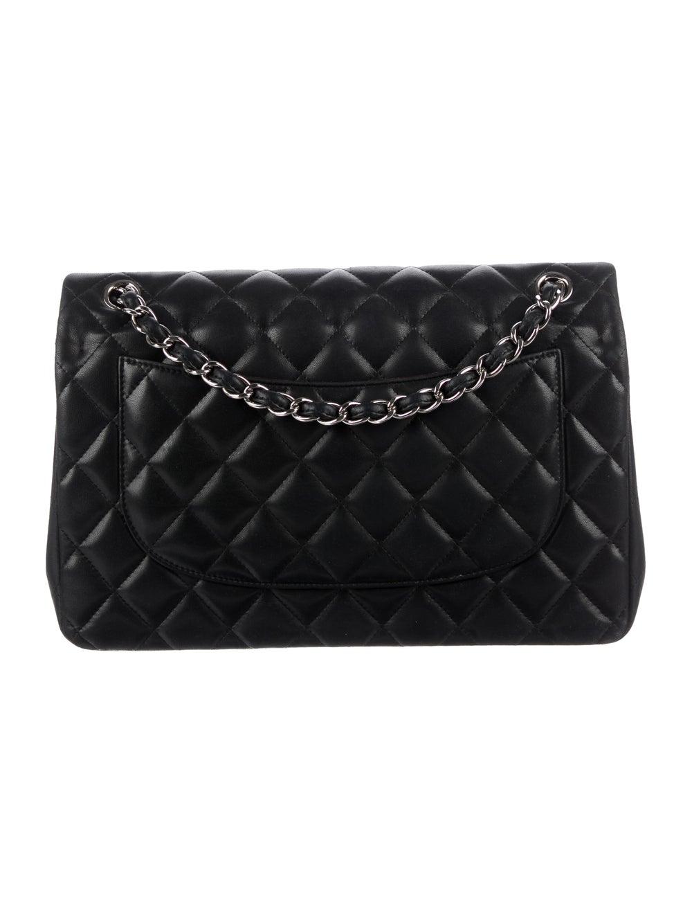 Chanel Classic Jumbo Double Flap Bag Black - image 4
