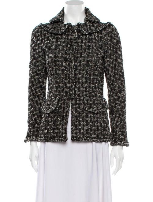 Chanel 2013 Tweed Pattern Jacket Black