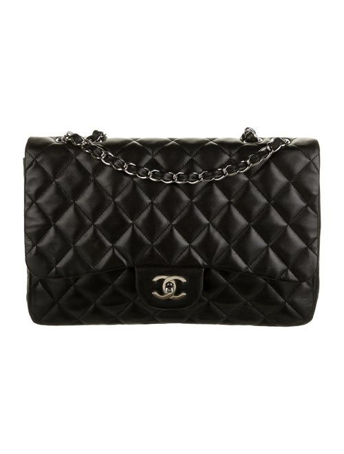 Chanel Classic Jumbo Single Flap Bag Black