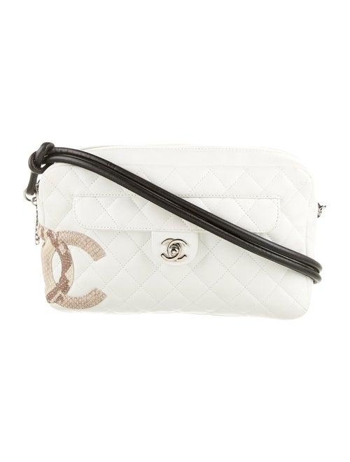 Chanel Ligne Cambon Camera Bag White