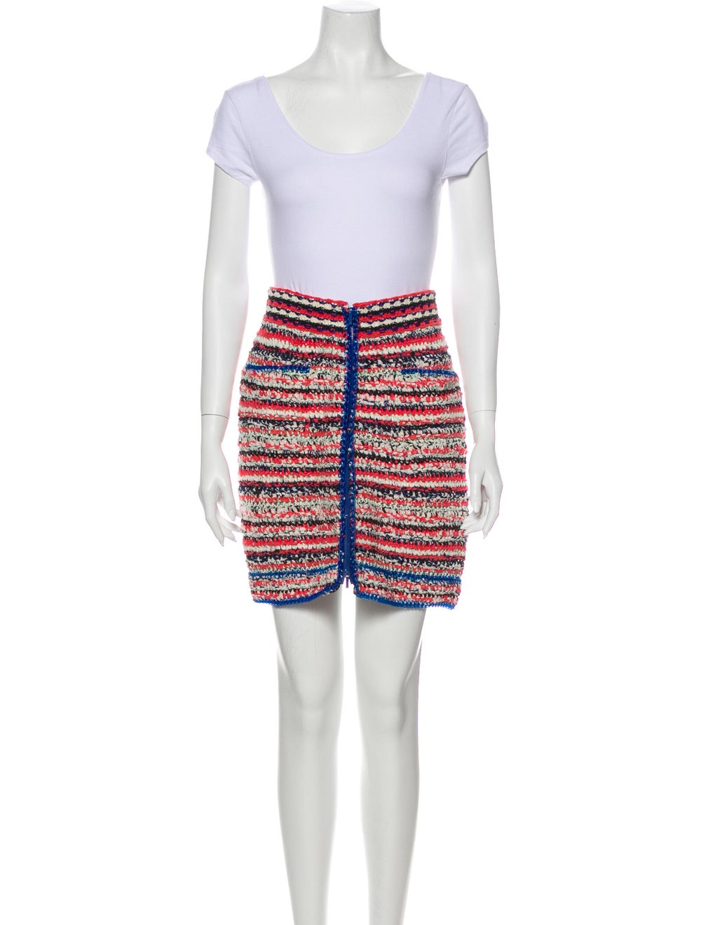 Chanel 2017 Tweed Pattern Skirt Set Pink - image 4