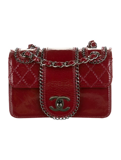 Chanel Mini Madison Flap Bag Red