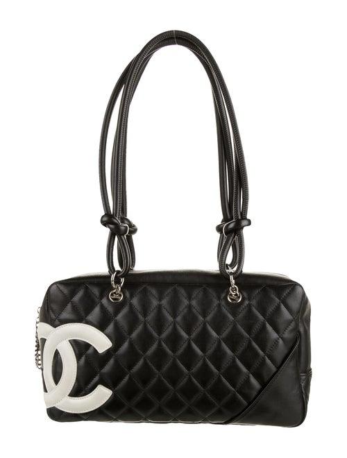 Chanel Ligne Cambon Bowler Bag Black