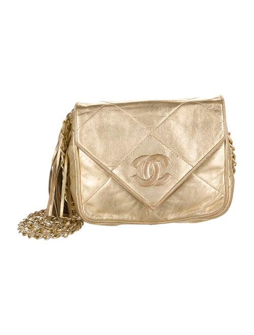 Chanel Vintage Envelope Flap Bag Gold