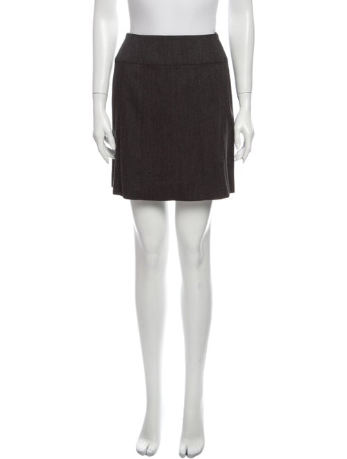 Chanel 1997 Mini Skirt Wool