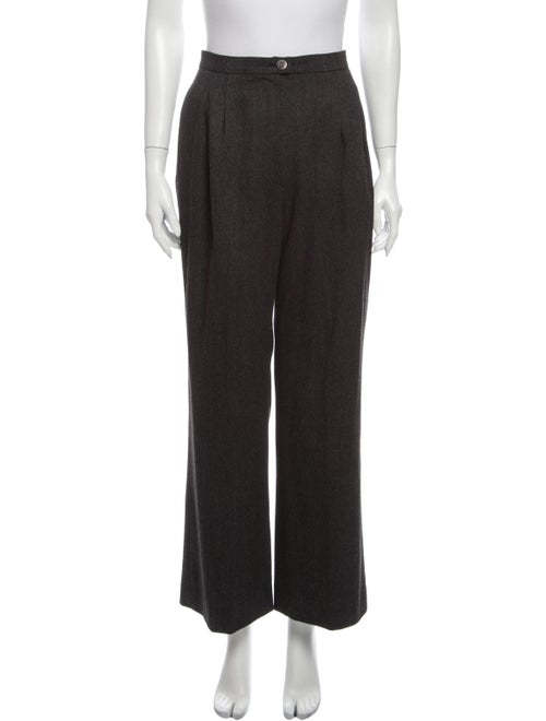Chanel 1997 Wide Leg Pants Wool