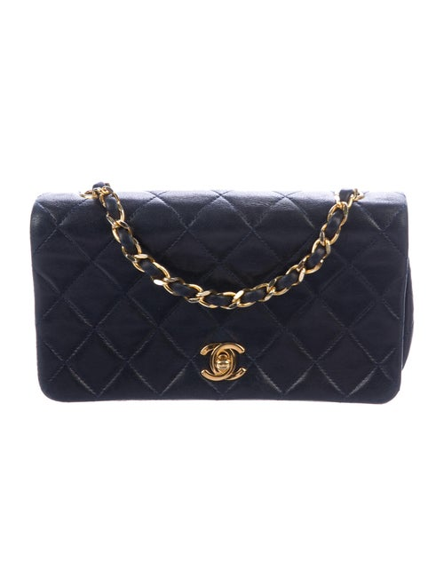 Chanel Vintage Mini Flap Bag gold