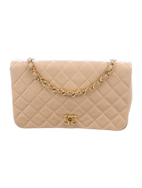 Chanel Vintage Flap Bag Beige