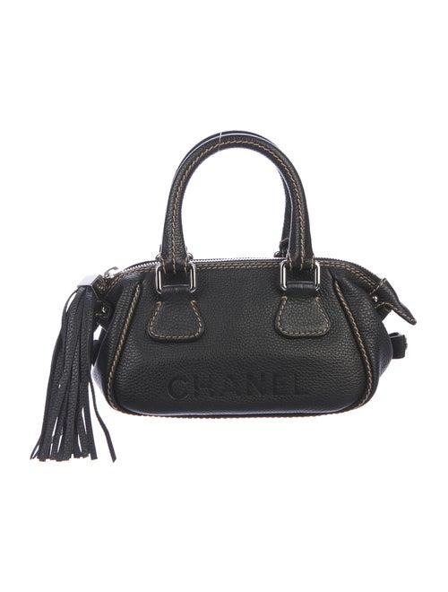 Chanel LAX Tassel Bag Black