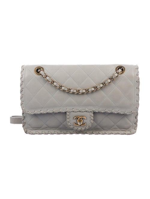 Chanel Happy Stitch Flap Bag gold