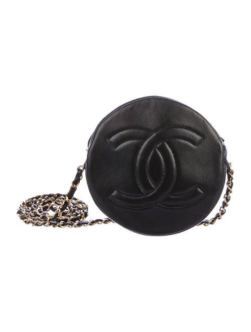 Chanel Vintage Round Timeless Bag Black
