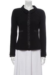 Chanel 2002 Wool Evening Jacket