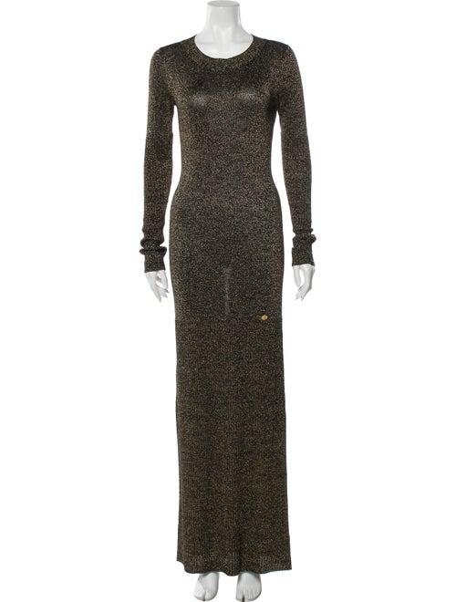 Chanel 2009 Long Dress Gold