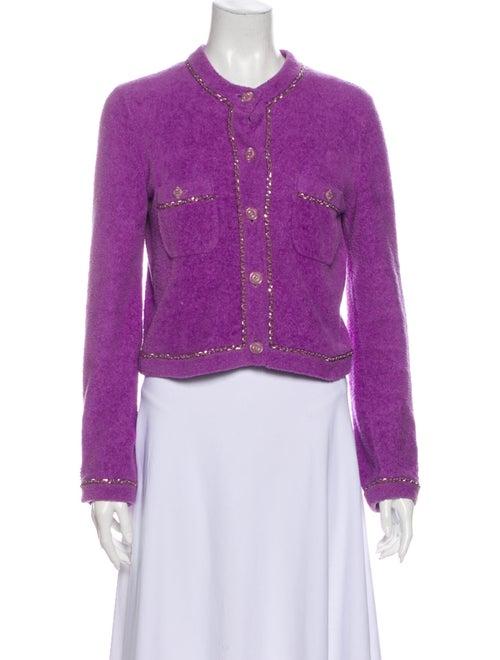 Chanel Evening Jacket Purple